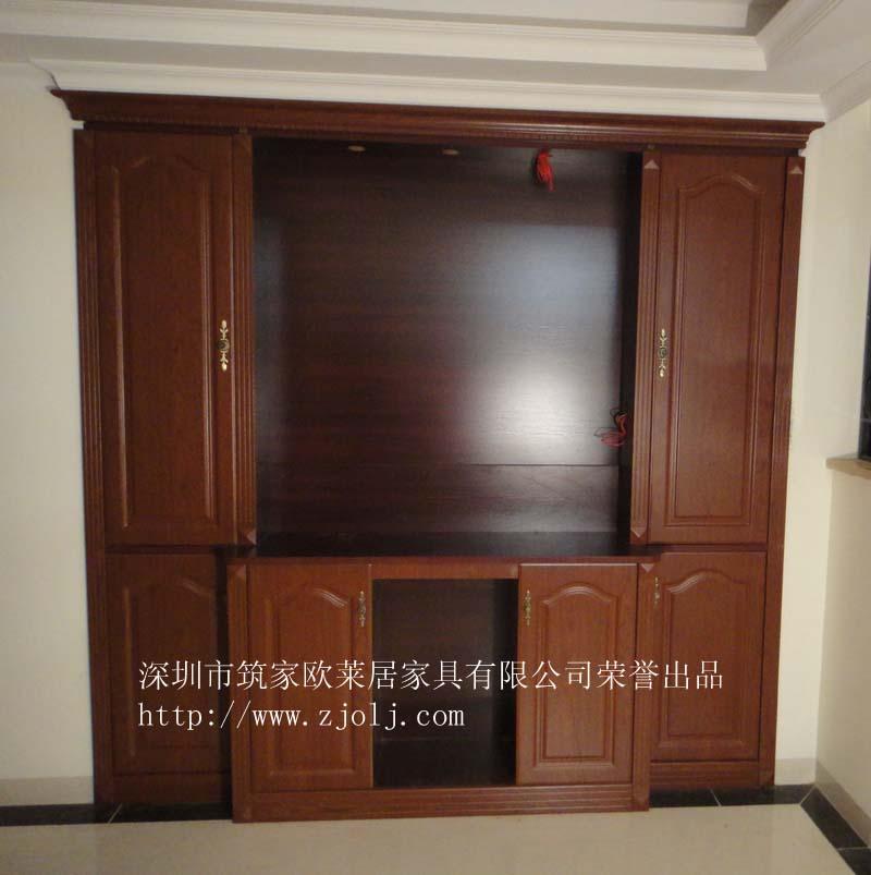 欧式衣柜鞋柜效果图; 下面是神台